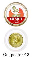 Гель-паста F.O.X Gel paste №013 (золото) 5 мл