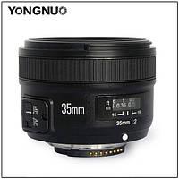 Объектив YONGNUO YN35MM 35 mm F/2.0N для Nikon