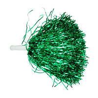 Помпоны-махалки зеленые для танцев,утреников,черлидинга