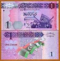 Лівія / Libya 1 Dinar 2013 Pick 76 UNC
