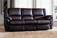 Алабама - 3х місний шкіряний диван з спальною функцією