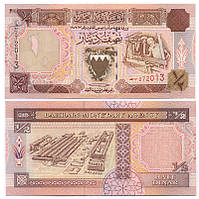 БАХРЕЙН 18 BAHRAIN 1/2 DINAR 1973(1998) Unc