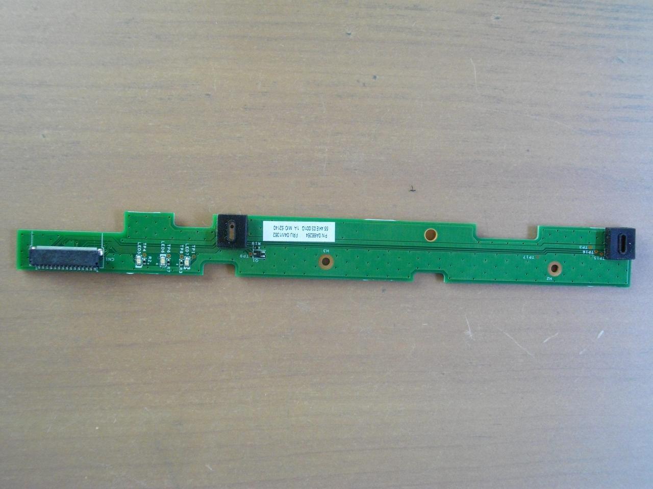 Плата с индикаторами и микрофонами lenovo thinkpad T520 48.4KE43.011
