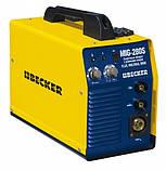 Сварочный инверторный полуавтомат  BECKER MIG-280 S, фото 2