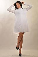 """Женское платье """"АКВА-ЗИМА"""" белый"""