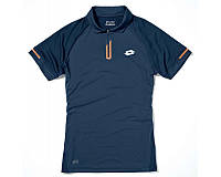 Мужская тенниска LOTTO DRAGON TECH POLO (S6240) NAVY