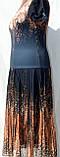 Женские летние трикотажные платья больших размеров, фото 3
