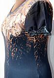 Женские летние трикотажные платья больших размеров, фото 5
