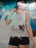 Пижама женская с шортиками