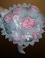 Свадебный букет-дублёр невесты (розовый 2)