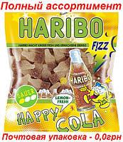 Конфеты Бутылочка Хэппи Кола Харибо  HappyCola Haribo 200гр.