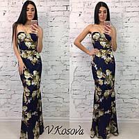 Платье-рыбка с чашками в стиле Dolce&Gabbana
