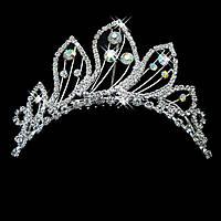 Свадебная диадема, гребень, корона, тиара, украшение для головы невесты