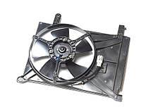 Вентилятор радиатора охлаждения дополнительный +AC (в сборе) Daewoo Lanos