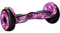 Гироскутер Smart Way Balance Premium NEW 10 5 Розовый Гелекси Cамобаланс ТаоТао