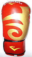 Перчатки для бокса Everlast  BO-3630-R 10, 12 унцый кожа красный