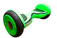 Гироскутер на подарок ребенку Smart Way Balance Wheel Premium 10 5 Зеленый Cамобаланс ТаоТао
