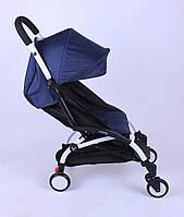 Прогулочная коляска YOYA Темно-синяя