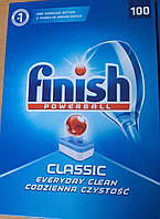 Таблетки для посудомоечных машин 100 шт Finish classic ( Финиш)