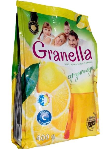 Чай гранулированный с ароматом лимона Granella