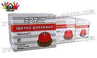 Щетки дисковые SPRUT М14 на УШМ,болгарку
