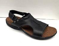 Босоножки мужские Ecco кожаные коричневые, черные E0015