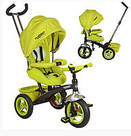 Велосипед трехколесный Turbo Trike M 3195-2A, зеленый