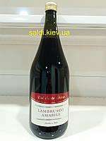 Вино Lambrusco Amabile 1,5 л