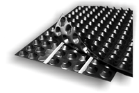 VENTFOL-Standart профільвана шиповидна дренажна мембрана.(400гм\м2)