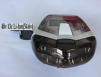 ПРИБОРНАЯ ПАНЕЛЬ+ Фара+ Сигнал + Ключ вкл, для электровелосипеда 48v 13c (Li-Ion 54.6v)
