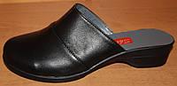Сабо женские кожа на маленьком каблуке, сабо женская обувь от производителя модель СТЛ21