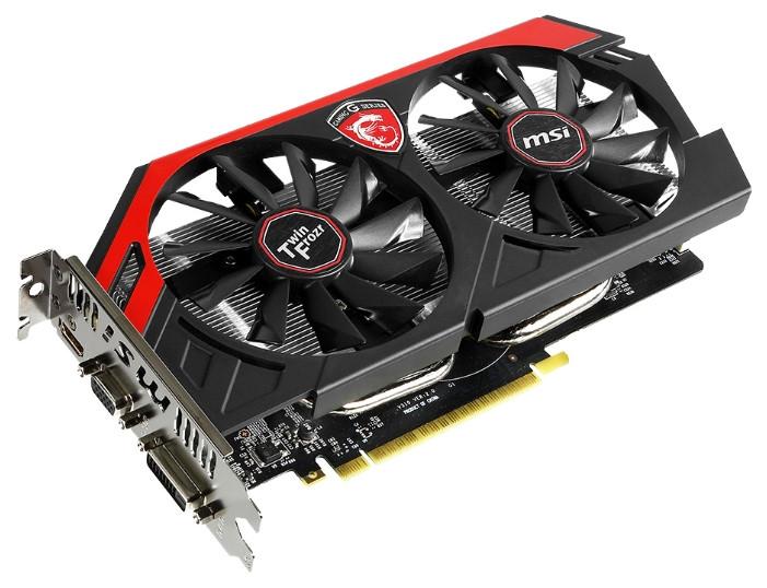 "Видеокарта MSI GeForce GTX750 Ti N750Ti TF 2GD5/OC ""Over-Stock"" Б/У"