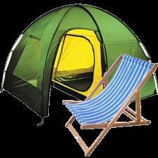 Палатки и мебель
