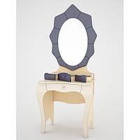 Столик туалетный с зеркалом Гламур (Ренессанс)