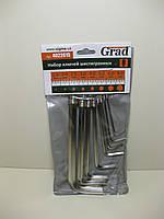 Набор шестирнанных ключей 8 предметов GRAD