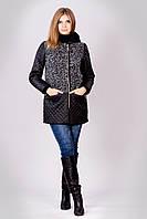 Молодежное короткое женское демисезонное пальто