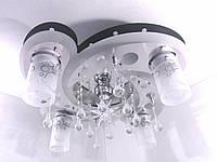 """Люстра потолочная """"Космос"""" с цветной LED подсветкой и автоматическим отключением YR-5533/4+1"""