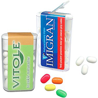 Драже Tic Tac с логотипом