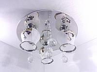 Люстра потолочная с цветной LED подсветкой YR-1398/400/3