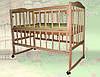 Кровать детская с откидной боковиной