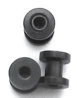 Тоннель 3, 4мм для украшения пирсинга ушей (медицинская сталь с титановым покрытием)