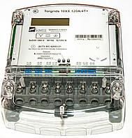 Счетчик Torgrids 10XX.120A/4S+R 3х220/380В, 5-120А,  активной энергии,Р, М, нетарифн., RS-485, ЖКИ, реле