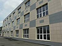 Керамогранитный фасад