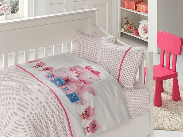 Белье постельное для новорожденных First Choice 3D BABY Happy, фото 2