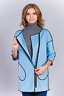Красивое короткое женское демисезонное пальто