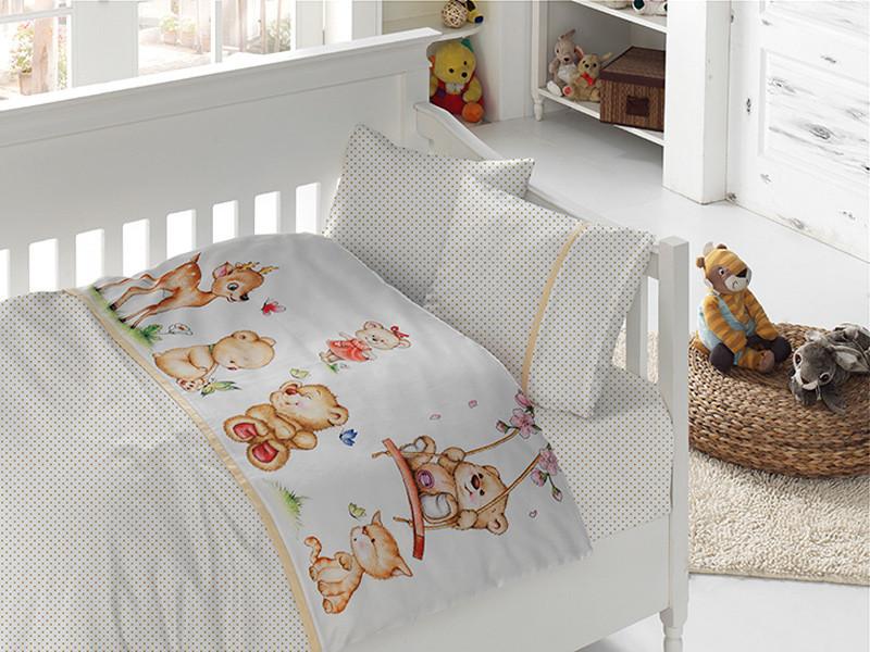 Белье постельное для новорожденных First Choice 3D BABY Honey
