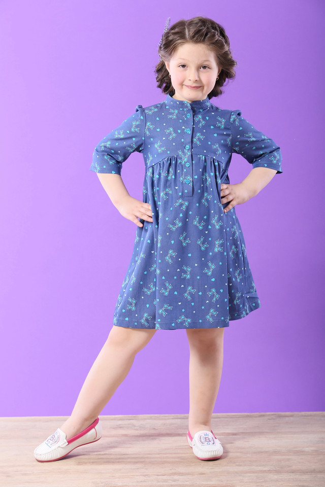 Детское платье из стрейч-котона