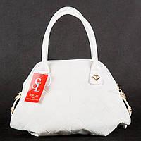 Белая сумка 1369wnr дамская летняя модная