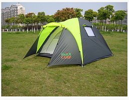 Получение туристической палатки  Green Camp 1011