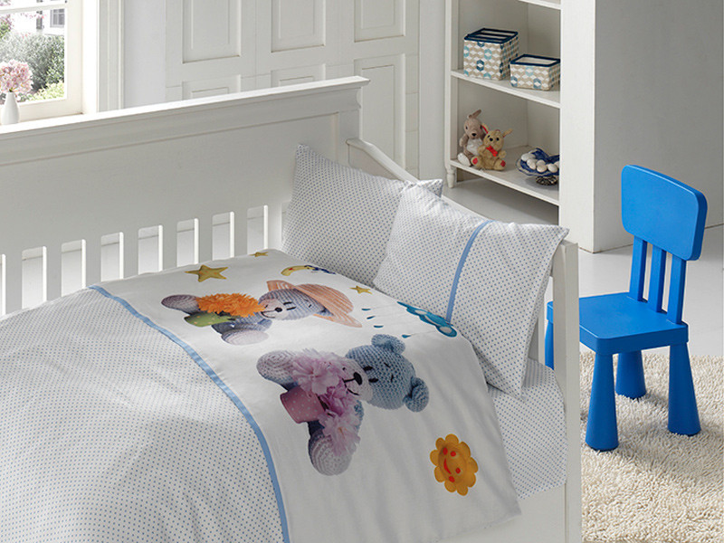 Белье постельное для новорожденных First Choice 3D BABY Mavis